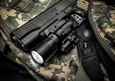 SureFire X400 Ultra Tactical WeaponLight with Green Laser