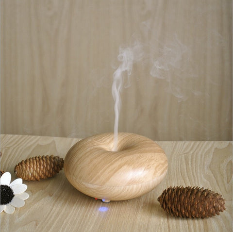 Donut Shaped Mini Ultrasonic Aromatherapy Diffuser or Humidifier - Seasons Chic