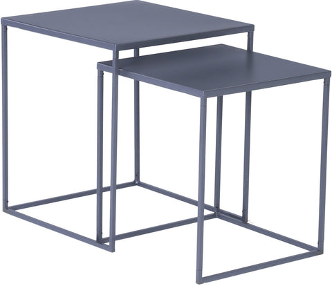 DARNELL Nest of 2 Tables 40cm - Iridium