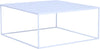 DARNELL Coffee Table 80cm - White