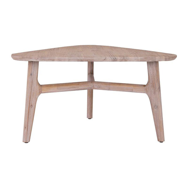 CORBIN Coffee Table Solid Wood - Havana Sandblast Colour