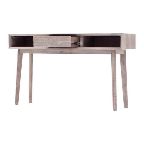 MADRID Console Table 140cm - Acacia Solid Wood - Uneven Distress Colour