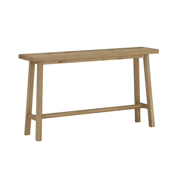 DOVER Console Table - Natural Oak