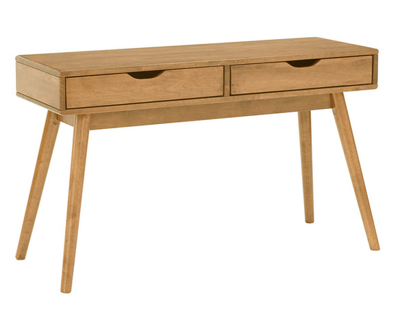 LAMAR Console Table with 2 Drawers 122cm - Natural