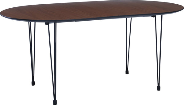 OMEO Dining Table Extendable - 170cm - Walnut