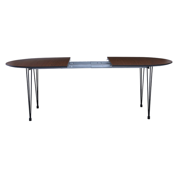 OMEO Dining Table Extendable - 170cm - Walnut | Modern ...