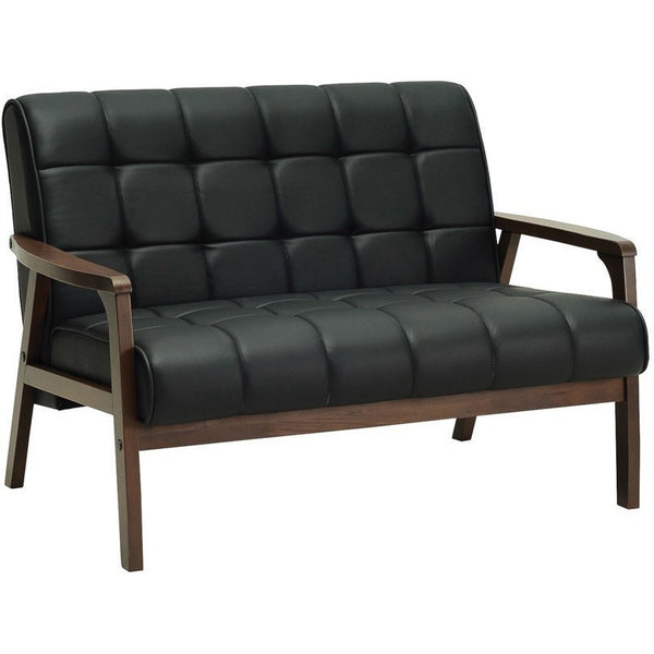 Tucson 2 Seater Sofa in Black