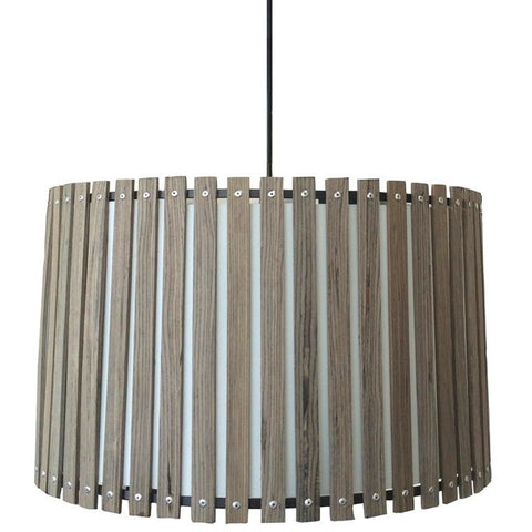 Zia Wooden Pendant Light