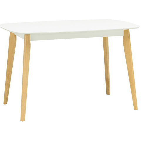 Arthur Dining Table in White - 1.2m