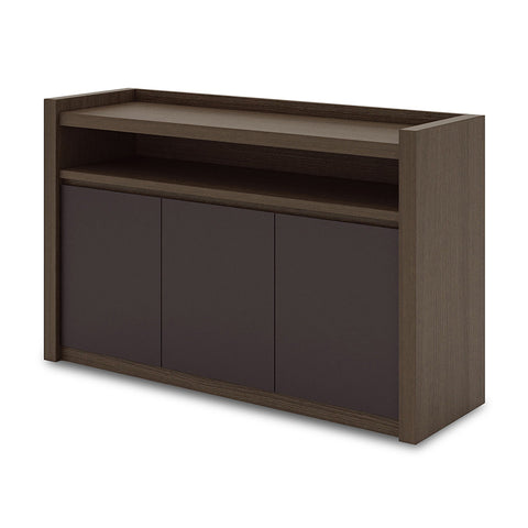 CARTER Sideboard - 1.3M Coffee + Grey