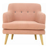 EXELERO Single Seater Sofa - Burnt Umber