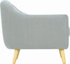 Senku Lounge Chair - Grey - Royaal Range