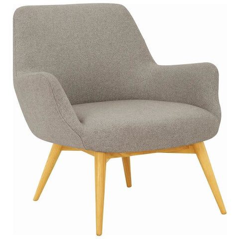BERLINGO Lounge Chair - Light Grey