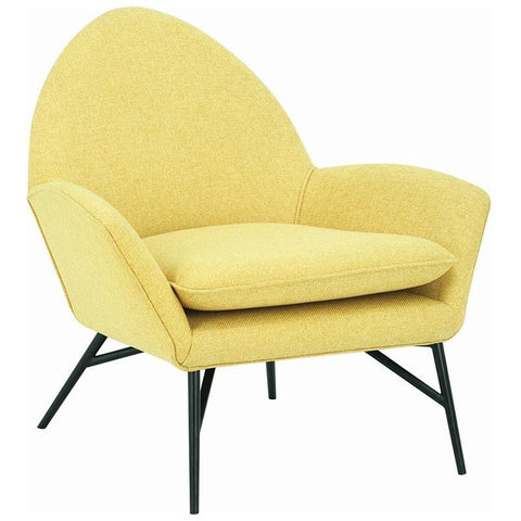 Lavinda Lounge Chair - Yellow - Royaal Range