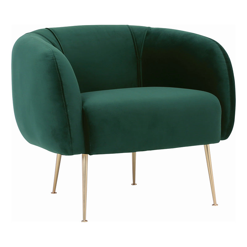 ALERO Single Seater Sofa - Dark Green
