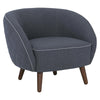 BRAT Lounge Chair - Battleship Grey Colour