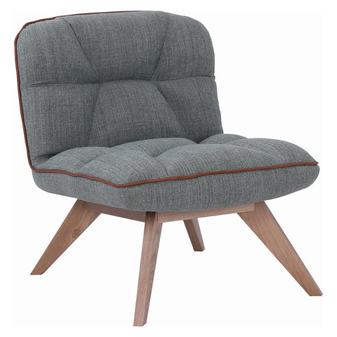 FEIRO Lounge Chair - Dim Grey