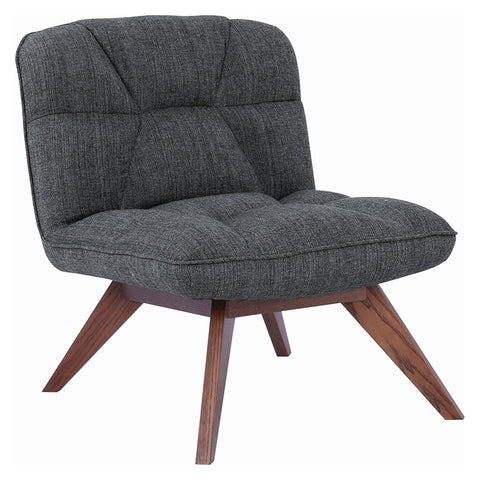 Feiro Lounge Chair - Liquorice