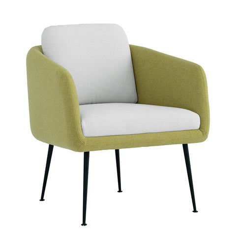 COUGAR Lounge Chair - Tea Green & Pale Golden