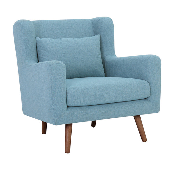SAFARI Single Seater Sofa - Aquamarine