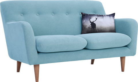 SPORTAGE Two Seater Sofa - Aquamarine Colour