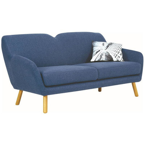 wagon 3 seater sofa midnight blue royaal range
