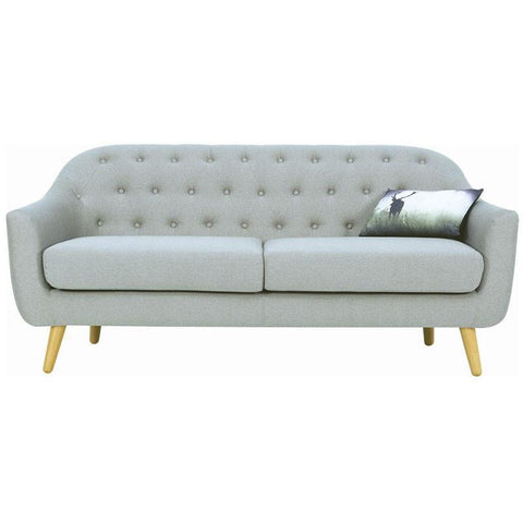 Senku 3 Seater Sofa - Grey - Royaal Range