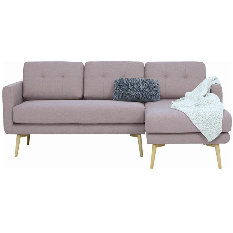 Innovatec stream 3 seater sofa with right chaise oak for 3 seater sofa with chaise