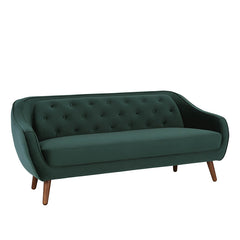 ESCORT 3 Seater Sofa in Dark Green