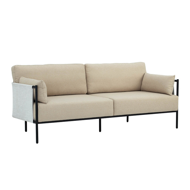 TREDIA 3 Seater Sofa - Tortilla/White Grey Colour