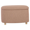 DAYTONA Ottoman with Storage 72cm - Oak Brown