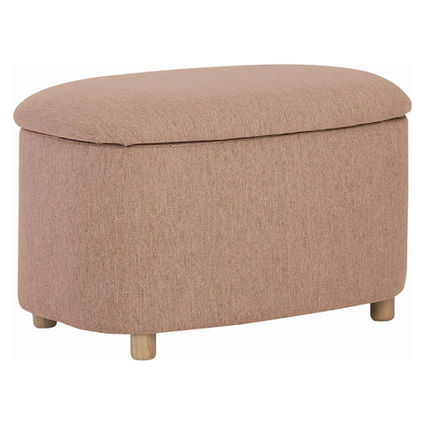 DAYTONA Ottoman with Storage Small - Oak Brown