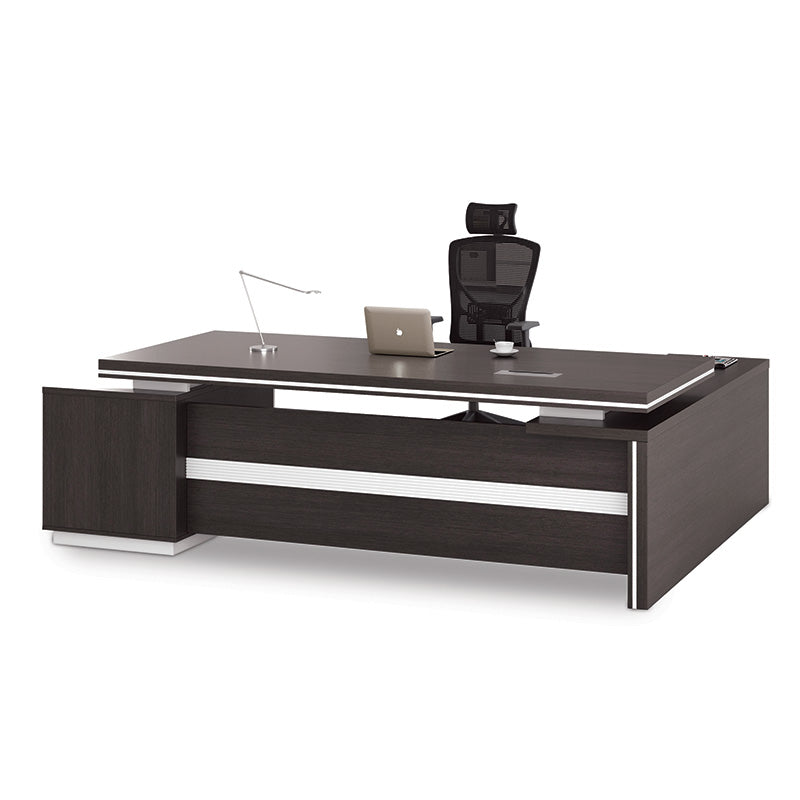 Awesome Xander Executive Office Desk Right Return 249Cm Black Download Free Architecture Designs Rallybritishbridgeorg