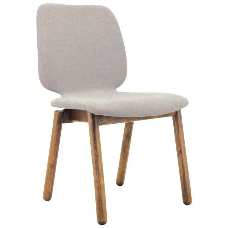 Missie Dining Chair Cocoa Light Grey Modern