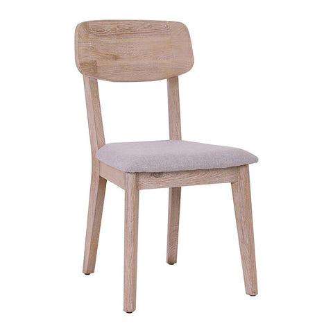 CORBIN Dining Chair Solid Wood - Havana Sandblast