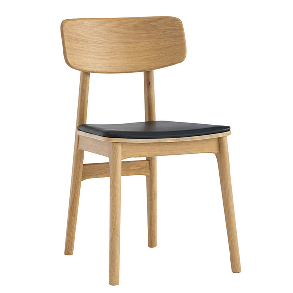 TACY Dining Chair - Natural & Black