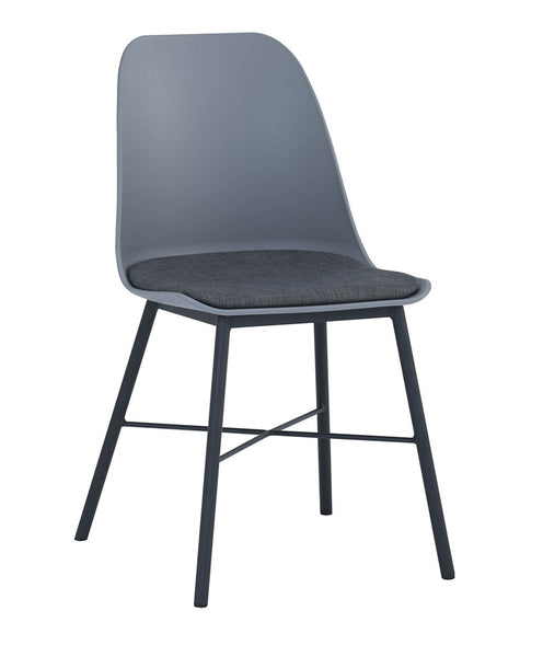 LAXMI Dining Chair - Grey & Black