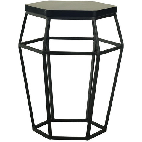 Ford Black Stool / Side Table