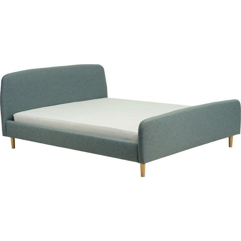 Guido Grey Upholstered Queen Bed
