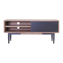 BINDER TV Entertainment Unit 1.3M Solid Wood - Taupe