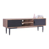 BINDER TV Entertainment Unit 1.65M Solid Wood - Taupe