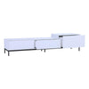 LOWELL TV Entertainment Unit - 180cm - White