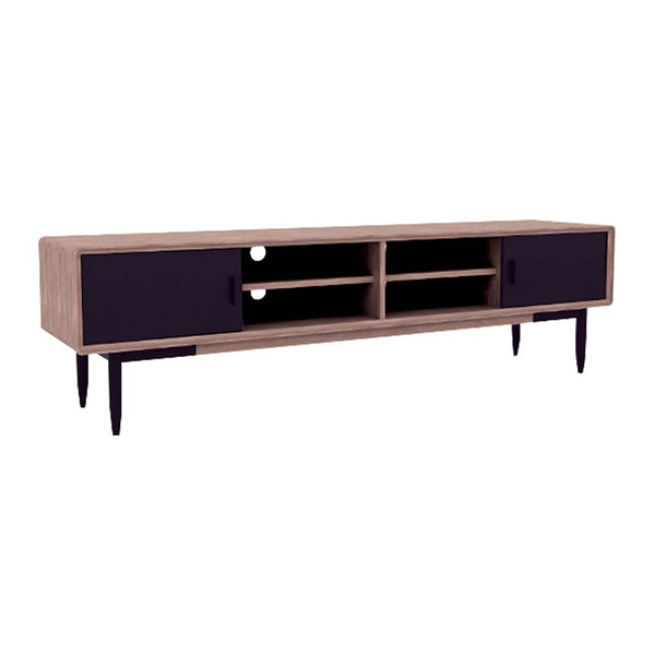 BINDER TV Entertainment Unit 2.0M Solid Wood - Taupe