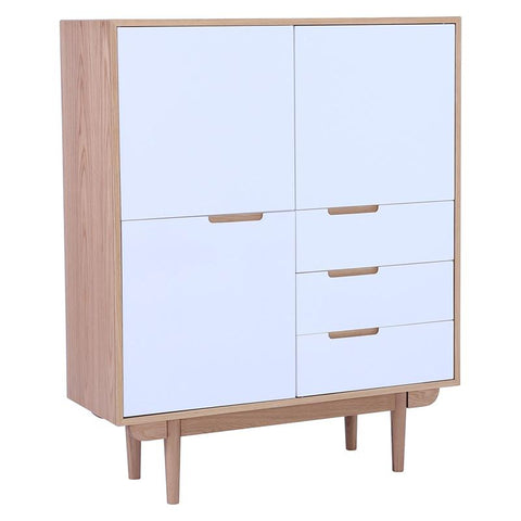 NAKULA Sideboard Tall - White