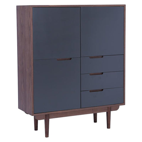 NAKULA Sideboard Tall - Walnut
