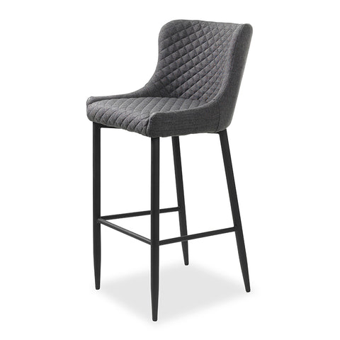 DANYA Bar Stool - Grey