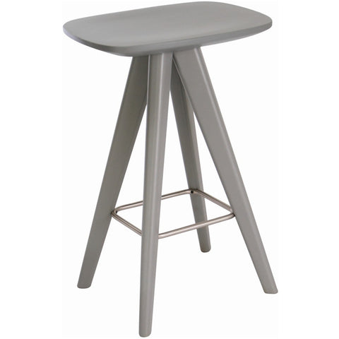 Petite Counter Stool in Grey