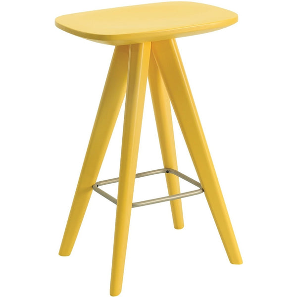 Petite Counter Stool in Yellow