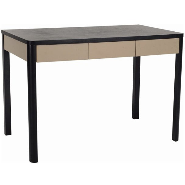 Mabon Desk in Black/Taupe
