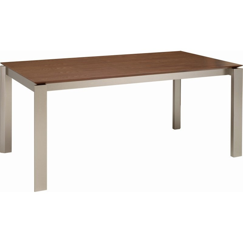 Elwood Dining Table - 180cm - Metallic + Cocoa